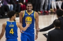 Podcast: Kevon Looney re-signs, Warriors add depth