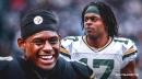 Steelers star JuJu Smith-Schuster is a fan of Packers' Davante Adams