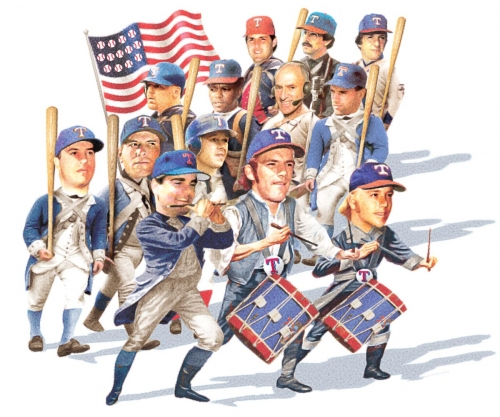 Fourth of July baseball: Evan Grant's all-time Texas Rangers team from the original 13 colonies