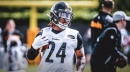 Steelers RB Benny Snell focused on following in the footsteps of Adrian Peterson, Marshawn Lynch