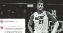 Hassan Whiteside posts farewell message for Heat
