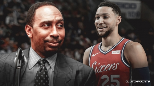 Stephen A. Smith says Ben Simmons deserves a max contract from Sixers despite shooting issues