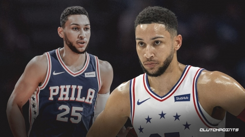 Sixers' Ben Simmons working out hard this summer, which wasn't the case in 2018