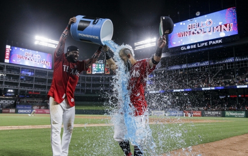 Rougned Odor hits 2 home runs, leads the Rangers out of their 4-game losing streak