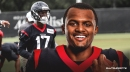 Texans QB Deshaun Watson says Vyncint Smith has improved 'mentally, physically, just all-around'