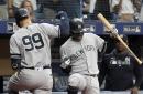 Yankees battle through more wild late innings, beat Rays 8-4