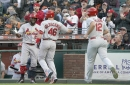 Cardinals break out, pound Giants behind Wong, Fowler