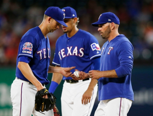 Rangers starter Mike Minor scratched from Sunday start vs. Twins