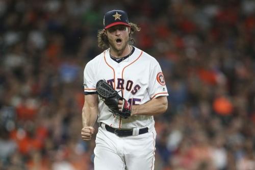 Cole Train wrecks halos bats. Leads Astros to 4-0 win.