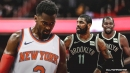 Knicks' Bobby Portis claims he knew in February Kevin Durant, Kyrie Irving were signing with Nets