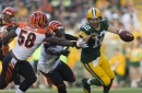 Carl Lawson says Aaron Rodgers is easy to sack, but faced Kyle Murphy in only matchup
