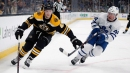 Bruins re-sign forward Danton Heinen to two-year contract