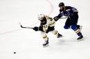 Danton Heinen Re-Signs with Boston Bruins