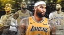 DeMarcus Cousins spoke to Anthony Davis, LeBron James, Rajon Rondo before signing with Lakers