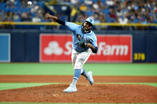 Tampa Bay Rays to activate RHP Diego Castillo, place RHP Chaz Roe on the 10-day IL