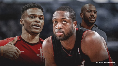 Dwyane Wade posts hilarious reaction to Russell Westbrook, Chris Paul trade