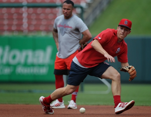 Molina heads to injured list as Carpenter returns