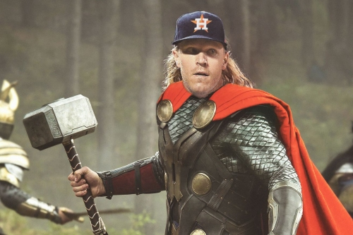 Could the Astros add another Superhero: Thor? ( Syndergaard )