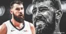 Jonas Valanciunas' contract with Memphis is declining over three years