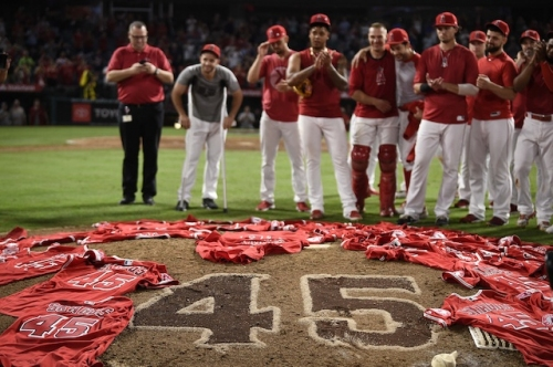 Justin Turner, Kenley Jansen & More Dodgers React To Angels Throwing Combined No-Hitter In Memory Of Tyler Skaggs