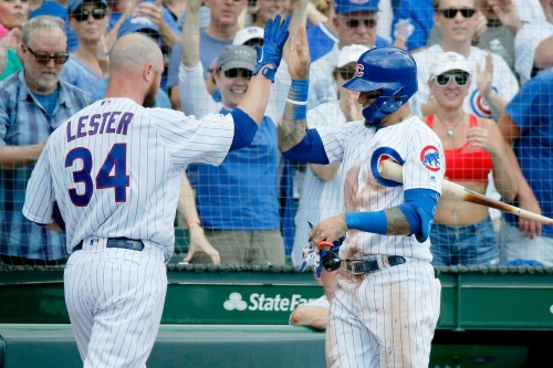Cubs 10, Pirates 4: Jon Lester does it all