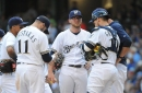 Bullpen falters again as Brewers fall to Giants, 8-3