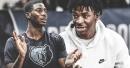 Video: Grizzlies' Jaren Jackson Jr. jokingly asks for Ja Morant's autograph