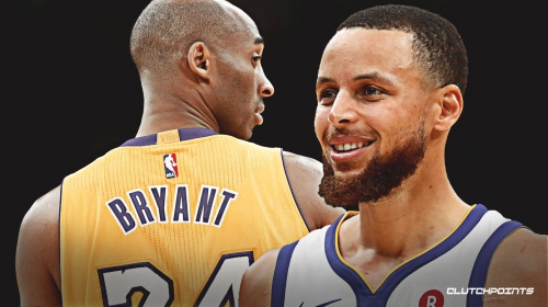 Stephen Curry reacts to iconic moment with Kobe Bryant