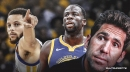 Warriors GM Bob Myers says there have been no discussions yet about load management for Stephen Curry, Draymond Green