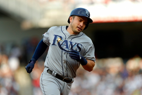 Travis d'Arnaud hits three home runs as Rays stun Yankees to start crucial series