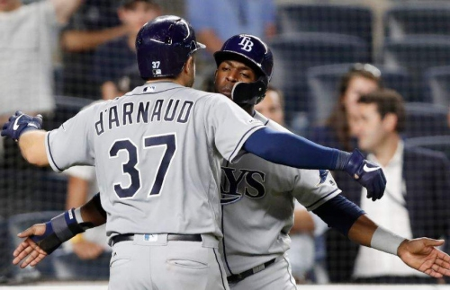 Ten things to know about Travis d'Arnaud and the Rays' thrilling win over Yankees