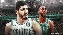 Enes Kanter says a big reason he picked Celtics was because of message from Kemba Walker