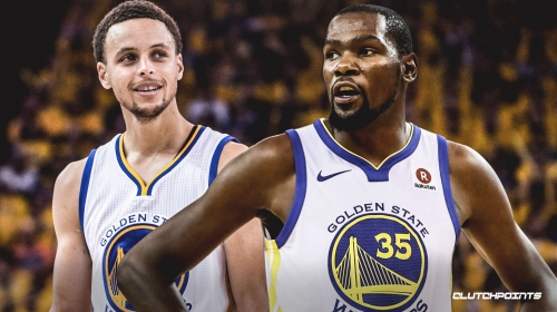 Warriors' Stephen Curry says playing with Kevin Durant 'cemented' his personality