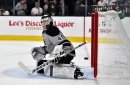 Goalie Cal Petersen signs contract extension with Kings