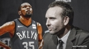 Sean Marks has 'no idea' when Kevin Durant will play again, says Nets will not rush KD back