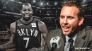 Nets GM Sean Marks says Kevin Durant's Instagram post committing to Brooklyn 'was news to all of us in the office'
