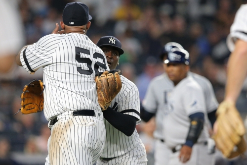 Yankees' CC Sabathia, Rays stir it up again in benches-clearing fracas