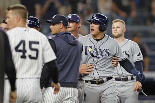 Script flips back as Rays lose to Yankees 8-3