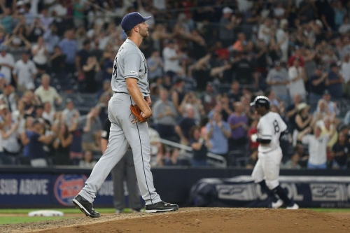 Rays 3, Yankees 8- No Rays heroics on this night