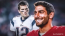 49ers' Jimmy Garoppolo says learning from Tom Brady was 'tremendous'