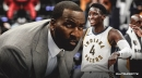 Kendrick Perkins thinks Pacers' Victor Oladipo has to get more aggressive recruiting other stars