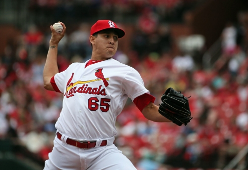 Cards reliever Gallegos slips under the radar, but eventually he could be a closer