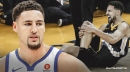 Warriors' Klay Thompson is rehabbing his ACL injury with his 'loyal' dog