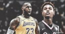 Lakers' LeBron James gives a 'scouting report' of his son Bronny