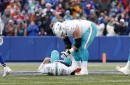 Miami Dolphins training camp stories: Offensive line could overshadow quarterback battle