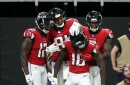 Falcons feature separation specialists at wide receiver