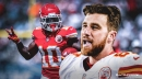 Chiefs' Travis Kelce excited to get Tyreek Hill back