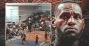 Video: Lakers' LeBron James posts rare high school highlights