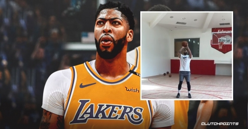 VIDEO: New shooting coach shows difference in jumpshot of Lakers star Anthony Davis