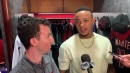 Ketel Marte on Diamondbacks' 10-7 win and his ejection